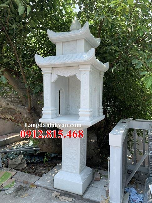 Mẫu cây hương đá đẹp ngoài trời bán tại Tiền Giang – Miếu thờ nhỏ