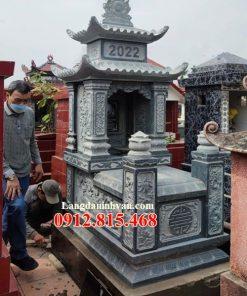 Mẫu mộ đá đẹp bán tại Kon Tum 01 – Mộ đá Ninh Bình
