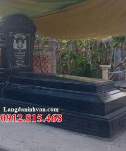 Mẫu mộ đá đơn giản đẹp bán tại Gia Lai 02 – Lăng mộ đá gia đình