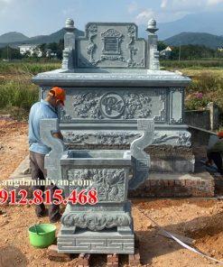 Mẫu mộ đá thiết kế đẹp bán tại Gia Lai 03 – Lăng mộ đá Gia Lai